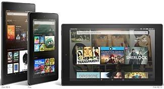 Amazon's New Fire Tablets - Small, Medium, and Large :  Does Size Matter?