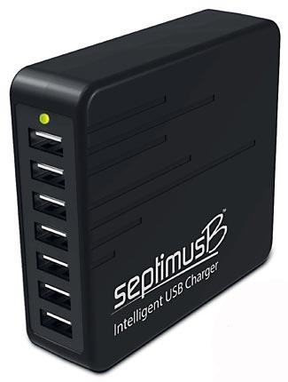 A Seven Port USB Charger